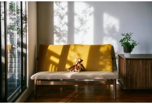 Finn Juhl日本沙發/J.L Moller單椅/胡桃木捲門電視櫃